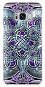 Celtic Hearts - Purple And Silver Galaxy S8 Case