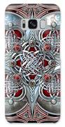 Celtic Hearts - Red Galaxy S8 Case