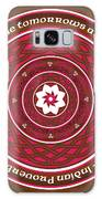 Celtic Lotus Mandala In Pink And Brown Galaxy S8 Case