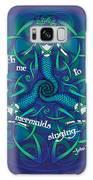Celtic Mermaid Mandala In Blue And Green Galaxy S8 Case