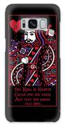 Celtic Queen Of Hearts Part IIi The King Of Hearts Galaxy S8 Case