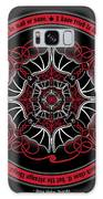 Celtic Vampire Bat Mandala Galaxy S8 Case