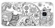 Chameleon In Fantasy Forest. Animals Galaxy S8 Case