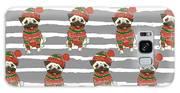Christmas Holidays Seamless Vector Galaxy S8 Case