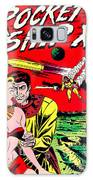 Classic Comic Book Cover - Rocket Ship X - 1225 Galaxy Case by Wingsdomain Art and Photography