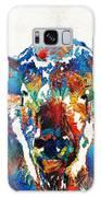 Colorful Buffalo Art - Sacred - By Sharon Cummings Galaxy S8 Case