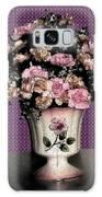 Dark Ink Vase And Flowers Galaxy S8 Case