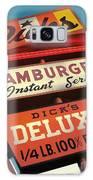 Dick's Hamburgers Galaxy Case by Jim Zahniser