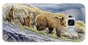Dunraven Pass Grizzly Family Galaxy S8 Case