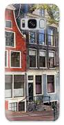 Dutch Style Traditional Houses In Amsterdam Galaxy S8 Case