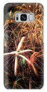 Fireworks Exploding Everywhere Galaxy Case