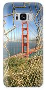 Golden Gate Through The Fence Galaxy Case