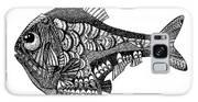 Hand Drawn Vector Illustration. Retro Galaxy S8 Case