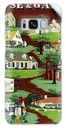 House & Garden Cover Illustration Of 9 Houses Galaxy S8 Case