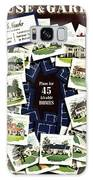 House And Garden Cover Featuring A Collage Galaxy S8 Case