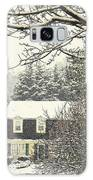 House In Snow Galaxy S8 Case