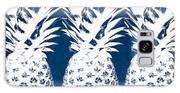 Indigo And White Pineapples Galaxy S8 Case