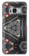 Kaleidoscope In Black Galaxy S8 Case