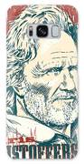 Kris Kristofferson Pop Art Galaxy S8 Case