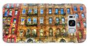 Led Zeppelin Physical Graffiti Building In Color Galaxy S8 Case