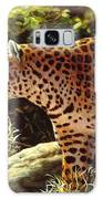 Leopard Painting - On The Prowl Galaxy S8 Case