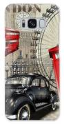 London Vintage Poster Galaxy S8 Case