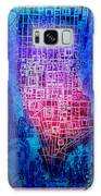 Manhattan Map Abstract 5 Galaxy S8 Case