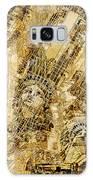 Manhattan Map Antique Galaxy S8 Case
