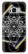 Metatron's Rainbow Healing Cube Galaxy S8 Case