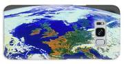 Meteosat Image Of Europe Galaxy S8 Case