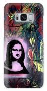 Mixed Media Abstract Post Modern Art By Alfredo Garcia Mona Lisa 2 Galaxy S8 Case