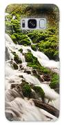 Mossy River Flowing. Galaxy Case
