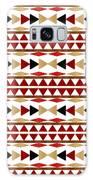 Navajo White Pattern Galaxy Case