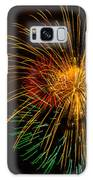 Orange Yellow Green Fireworks Galveston Galaxy S8 Case