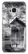 Outhouse In The Forest Black And White Galaxy S8 Case