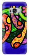 Paisley Pond - Vertical Galaxy Case by Steven Scott