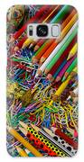 Pencils And Paperclips Galaxy Case