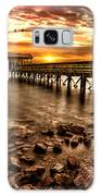 Pier At Smith Mountain Lake Galaxy S8 Case
