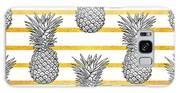 Pineapple Tropical Vector Seamless Galaxy S8 Case