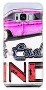 Pink Cadillac Diner Galaxy Case