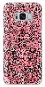 Pink Pixels Galaxy Case by Mike Taylor