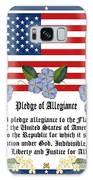 Pledge Of Allegiance Galaxy S8 Case