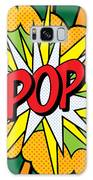 Pop Art 4 Galaxy Case