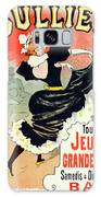 Poster For Le Bal Bullier. Meunier, Georges 1869-1942 Galaxy S8 Case