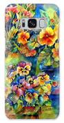 Potted Pansies  Galaxy S8 Case