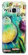 Praying And Waiting Bird Galaxy S8 Case
