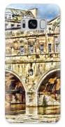 Pulteney Bridge Bath Galaxy Case by Paul Gulliver