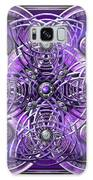 Purple And Silver Celtic Cross Galaxy S8 Case