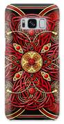 Red And Gold Celtic Cross Galaxy S8 Case