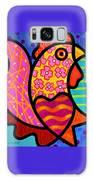 Rooster Dance Galaxy Case by Steven Scott